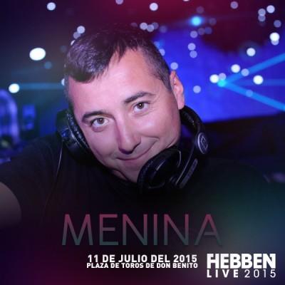 MENINA HEBBEN LIVE 2015