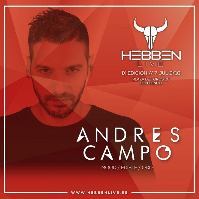 ANDRÉS CAMPO - HEBBEN LIVE 2018