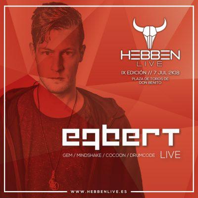 EGBERT - HEBBEN LIVE 2018